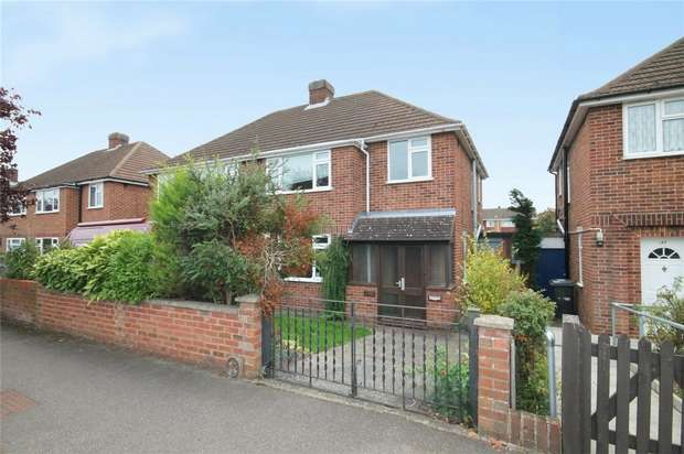 3 Bedrooms Semi Detached House for sale in Aylesbury Road, Bedford