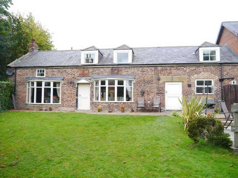 5 Bedrooms Detached House for sale in SPACIOUS 4 BEDHOUSE WITH CHARACTER Higham Dykes, Milbourne, Nr Ponteland, Northumberland