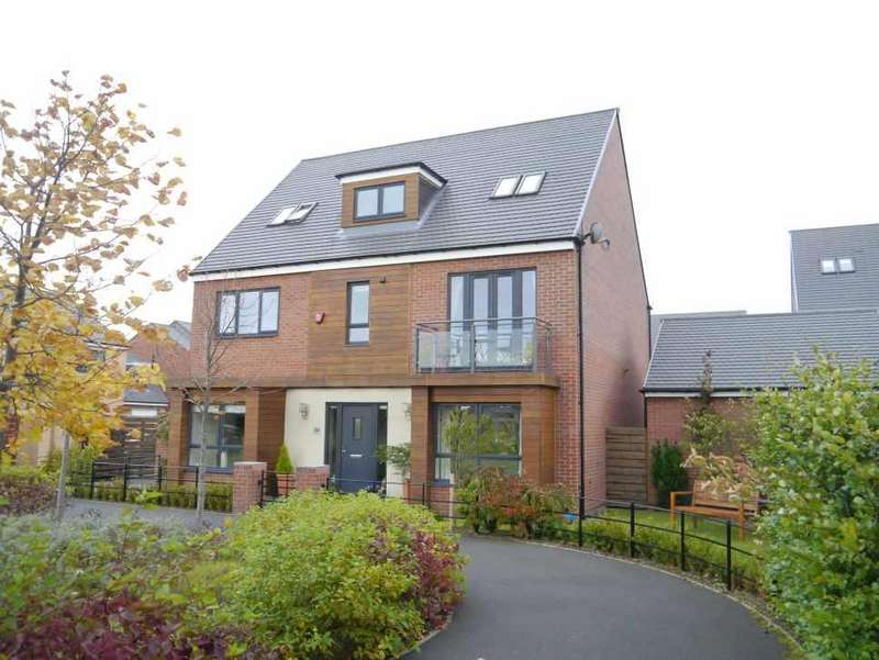 5 Bedrooms Detached House for sale in 5/6 BED FAMILY HOUSE IN FABULOUS LOCATION Elford Avenue, Greenside, Newcastle Great Park, Newcastle Upon Tyne
