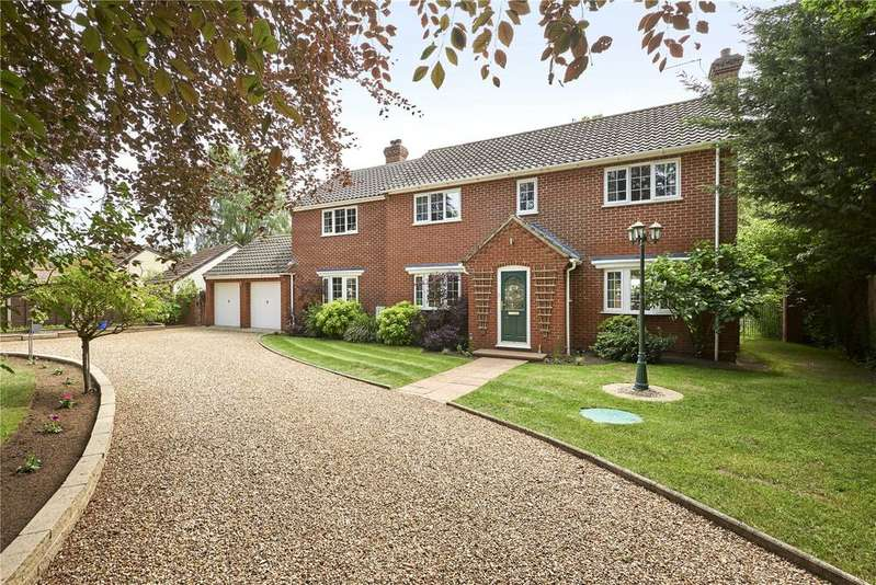 5 Bedrooms Detached House for sale in Mere Road, Stow Bedon, Attleborough, Norfolk