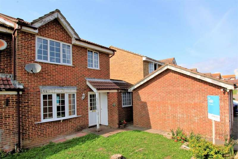 4 Bedrooms Semi Detached House for sale in St. Laurence Close, Peacehaven