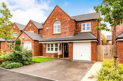 4 Bedrooms Detached House for sale in Whalley Close, Bury, Greater Manchester, BL9