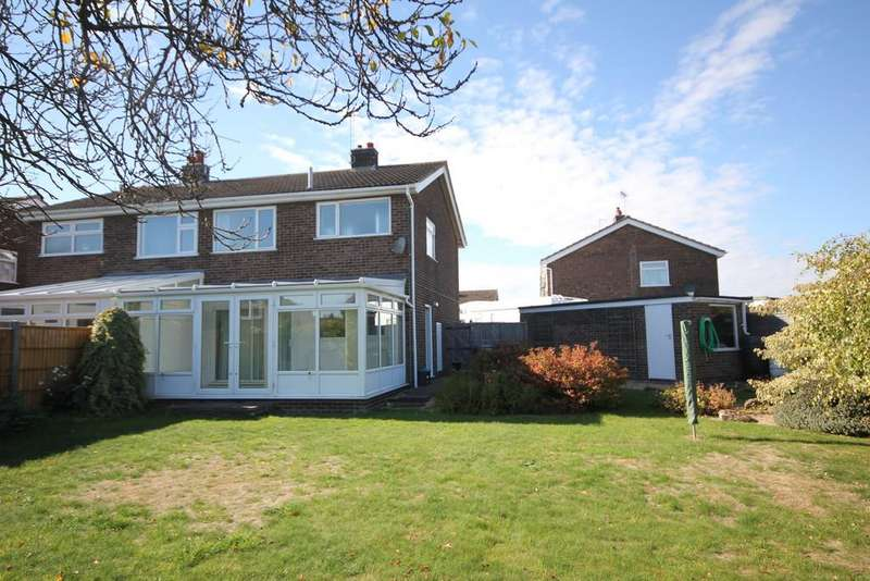 3 Bedrooms Semi Detached House for sale in Exton Close, Stamford