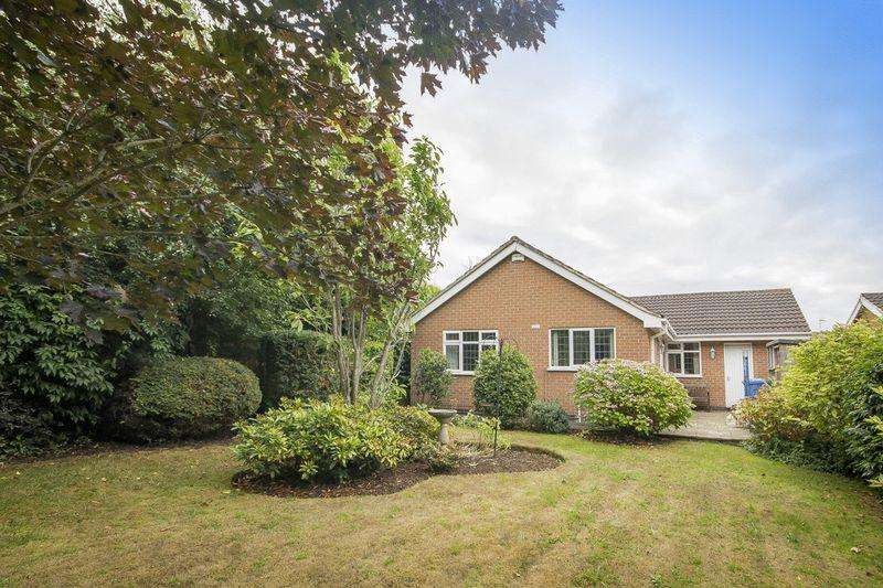 3 Bedrooms Detached Bungalow for sale in CARNOUSTIE CLOSE, MICKLEOVER