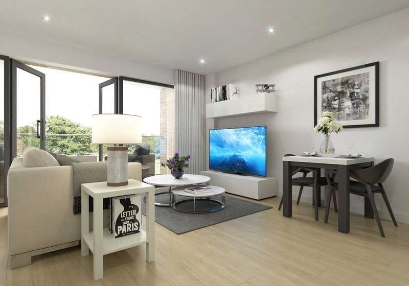 2 Bedrooms Apartment Flat for sale in Crystal Palace Road, London