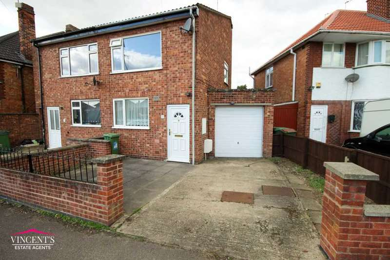 3 Bedrooms Semi Detached House for sale in Wilnicott Road, Leicester