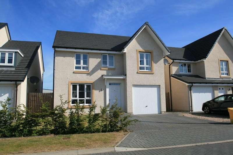 4 Bedrooms Detached House for sale in Appleton Drive, Livingston