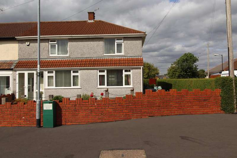 4 Bedrooms End Of Terrace House for sale in Gilda Crescent, Whitchurch, Bristol