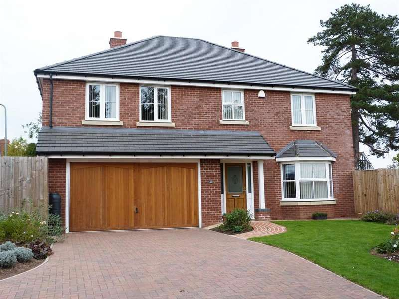 4 Bedrooms Detached House for sale in Belgravia Gardens, Aylestone Hill, Hereford, HR1