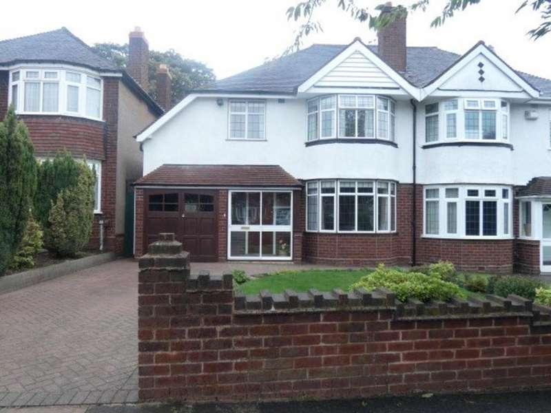 3 Bedrooms Semi Detached House for sale in Greenside Road, Erdington