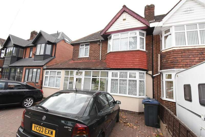 3 Bedrooms Semi Detached House for sale in Bromford Road, Birmingham