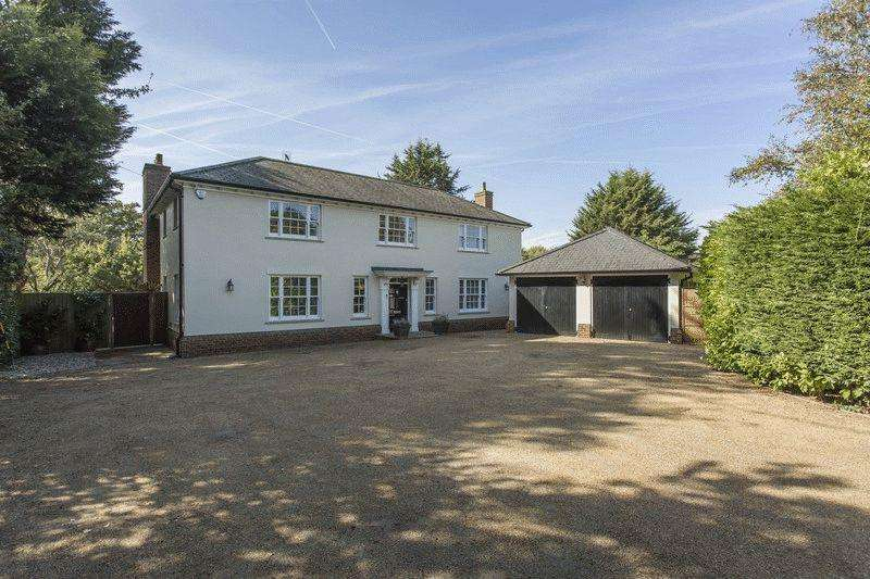 5 Bedrooms Detached House for sale in Barnsley House, Mill Road, Stock Village