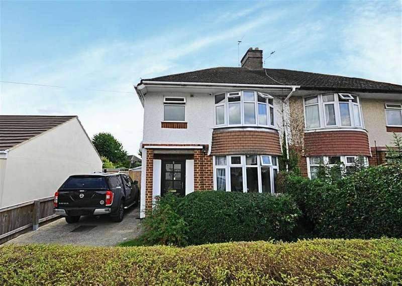 3 Bedrooms Semi Detached House for sale in Parkside Drive, Churchdown