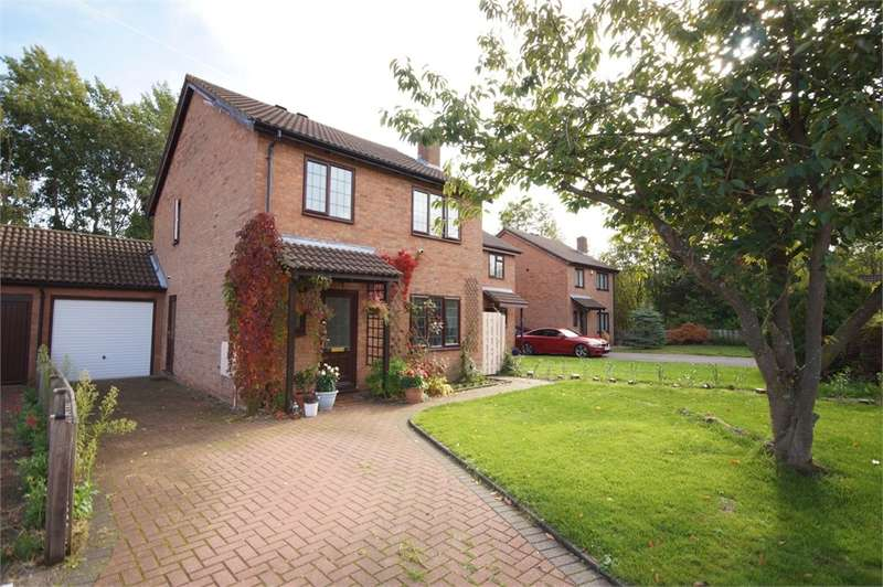 4 Bedrooms Link Detached House for sale in Kelton Close, Lower Earley, READING, Berkshire