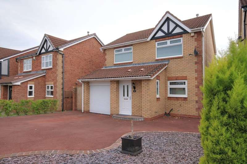3 Bedrooms Detached House for sale in Falstone Drive, Chester Le Street, DH2