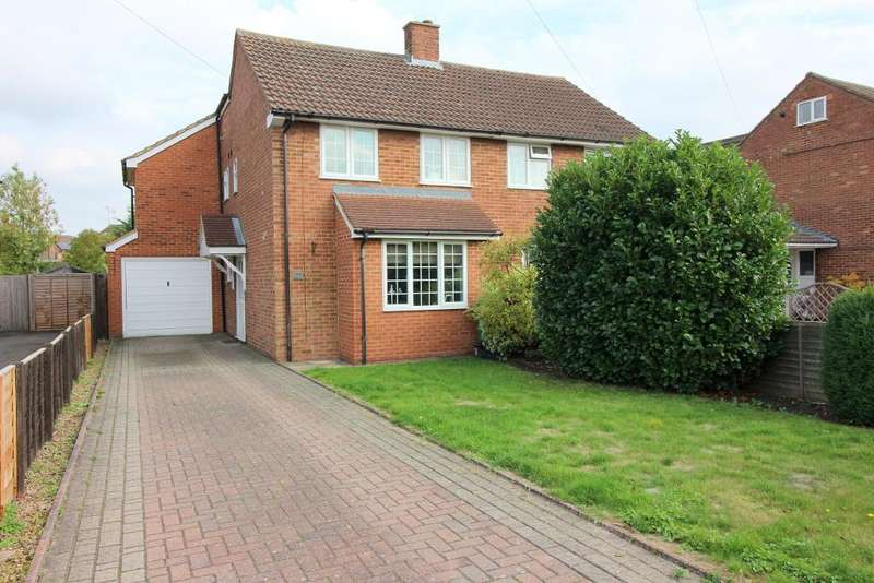 3 Bedrooms Semi Detached House for sale in Stuart Road, Barton Le Clay, Bedfordshire, MK45 4ND