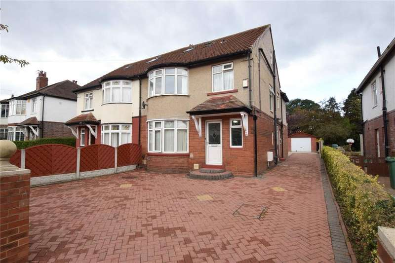 5 Bedrooms Semi Detached House for sale in Becketts Park Drive, Headingley, Leeds
