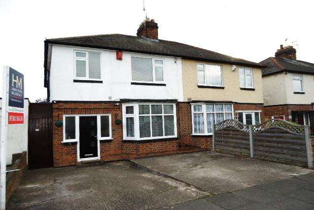 4 Bedrooms Semi Detached House for sale in Evesham Road, Rowley Fields , Leicester, LE3