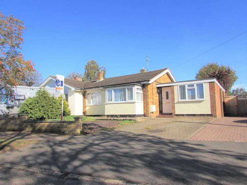 3 Bedrooms Semi Detached Bungalow for sale in Lakefield Avenue, Toddington