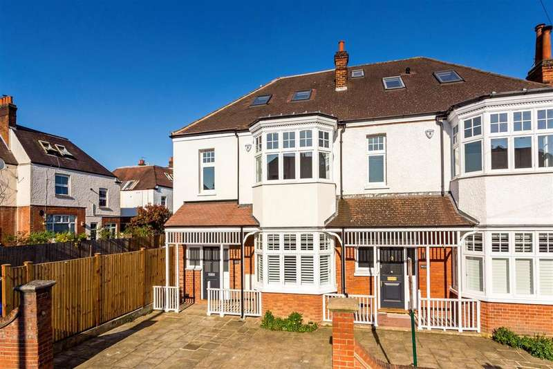 4 Bedrooms House for sale in Oakwood Road, West Wimbledon, SW20