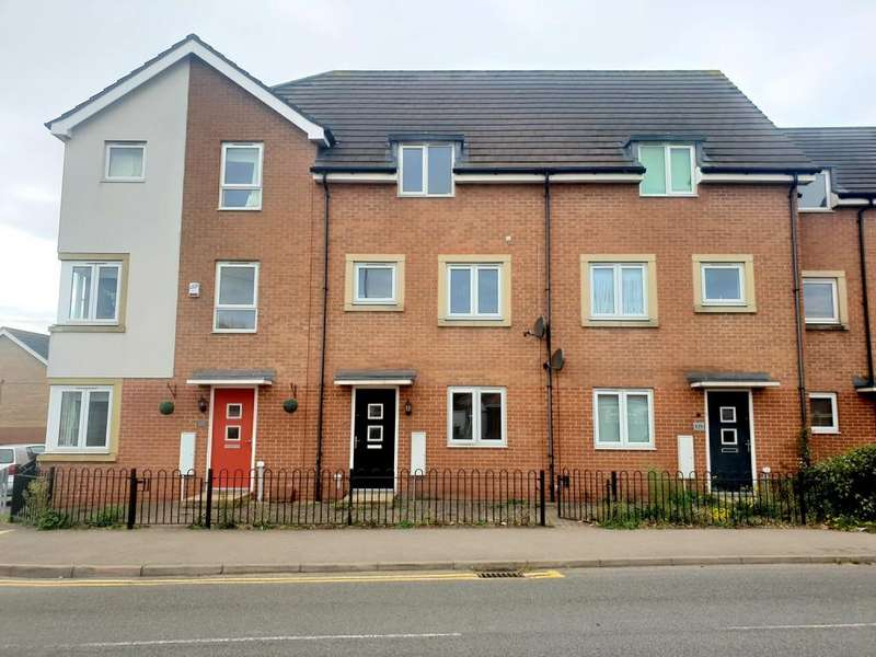 3 Bedrooms Town House for sale in Humberstone Lane, Thurmaston, Leicester