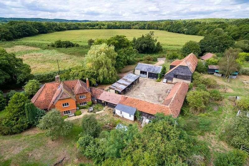 3 Bedrooms Detached House for sale in Shackleford Road, Elstead, Godalming, Surrey