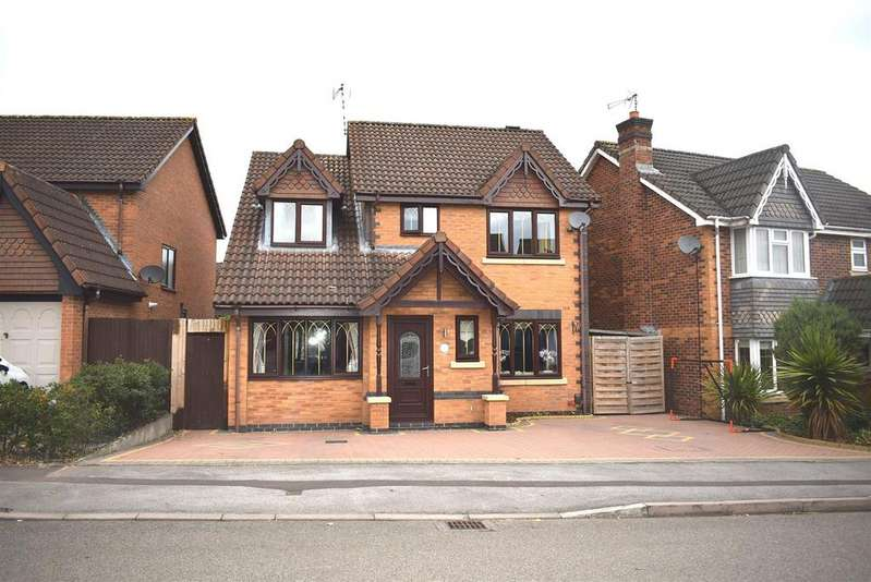 4 Bedrooms Detached House for sale in The Sycamores, Bedworth