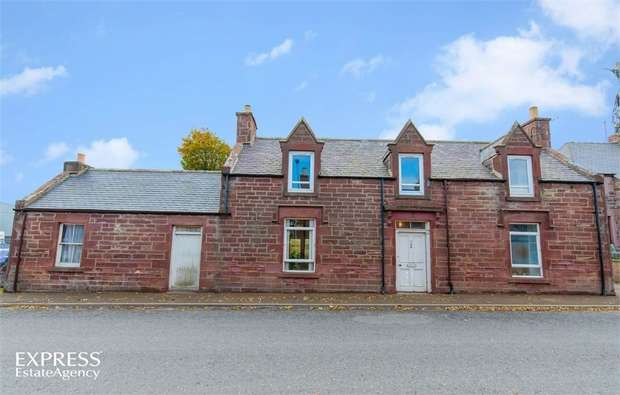3 Bedrooms Detached House for sale in High Street, Cuminestown, Turriff, Aberdeenshire