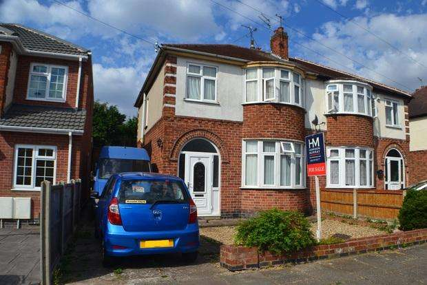 3 Bedrooms Semi Detached House for sale in Highgate Drive, West Knighton, Leicester, LE2