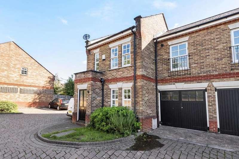 2 Bedrooms Terraced House for sale in Meredith Mews, Brockley Road, Brockley