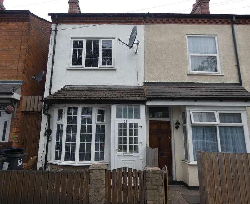 3 Bedrooms Terraced House for sale in Holder Road, Yardley, Birmingham