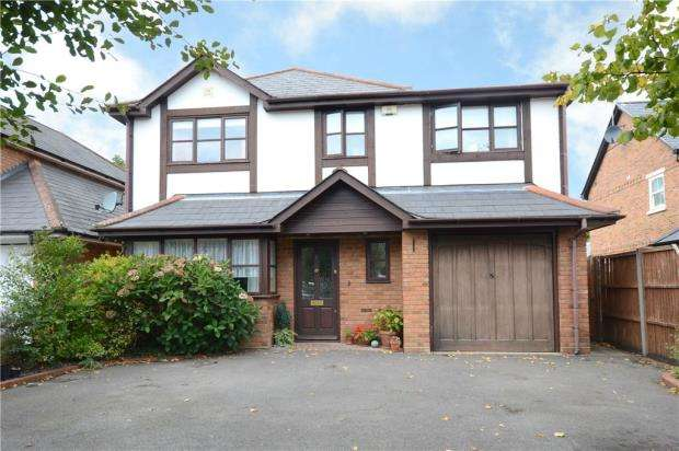 5 Bedrooms Detached House for sale in Branksome Hill Road, College Town, Sandhurst