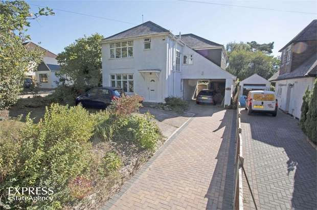 4 Bedrooms Detached House for sale in Magna Road, Bournemouth, Dorset