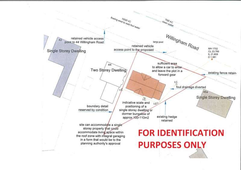 Plot Commercial for sale in Building Plot, Adjoining 44 Willingham Road, Knaith Park, Gainsborough, Lincolnshire