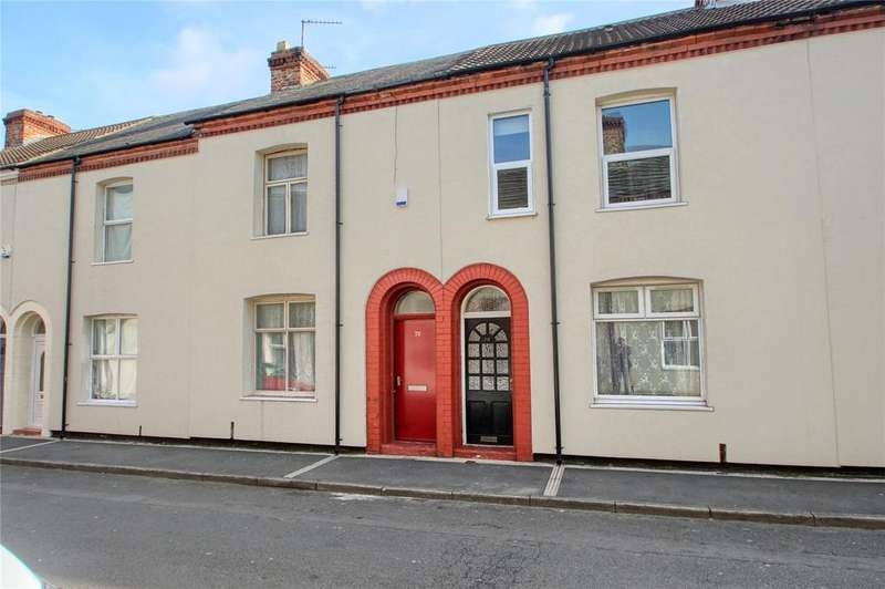 2 Bedrooms Terraced House for sale in Tarring Street, Stockton-on-Tees