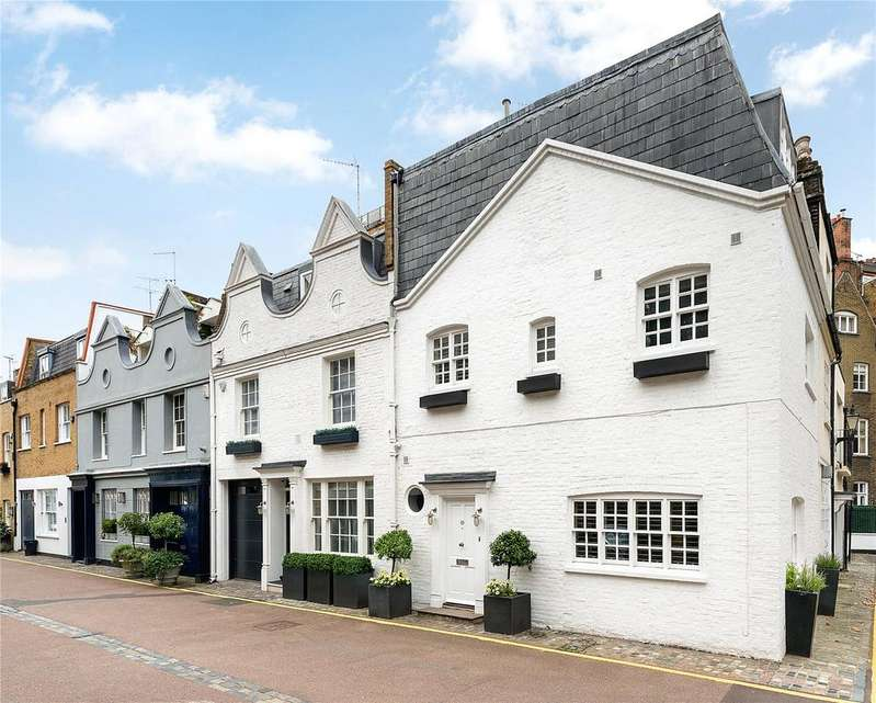 3 Bedrooms House for sale in Clabon Mews, Knightsbridge, London