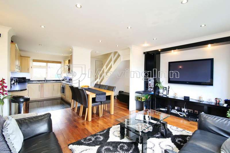 3 Bedrooms Maisonette Flat for sale in Redhill Court, Palace Road, Streatham Hill, London, SW2