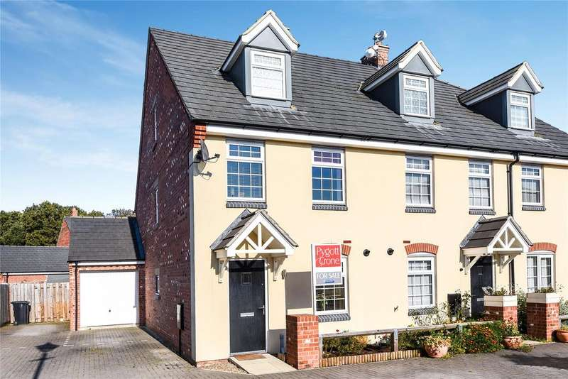3 Bedrooms End Of Terrace House for sale in Buttercup Way, Witham St Hughs, LN6