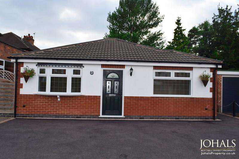 2 Bedrooms Bungalow for sale in Gwendolin Avenue, Leicester, Leicestershire, LE4