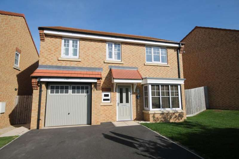 4 Bedrooms Detached House for sale in Bramble Close, Stainton, Middlesbrough