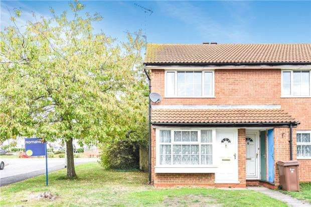 2 Bedrooms Maisonette Flat for sale in Meteor Close, Woodley, Reading