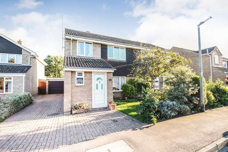3 Bedrooms Semi Detached House for sale in Shakespeare Drive, Upper Caldecote, SG18