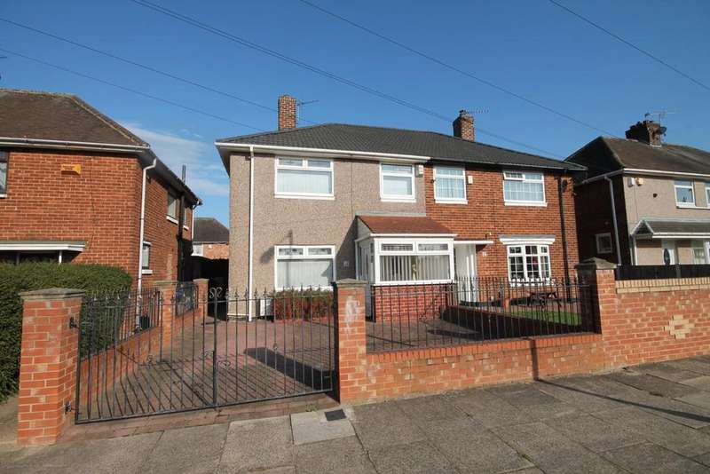 3 Bedrooms Semi Detached House for sale in Overdale Road, Middlesbrough
