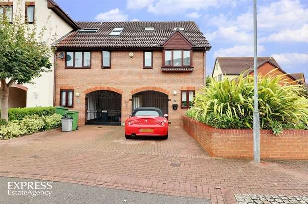 4 Bedrooms End Of Terrace House for sale in Newlyn Way, Port Solent, Portsmouth, Hampshire