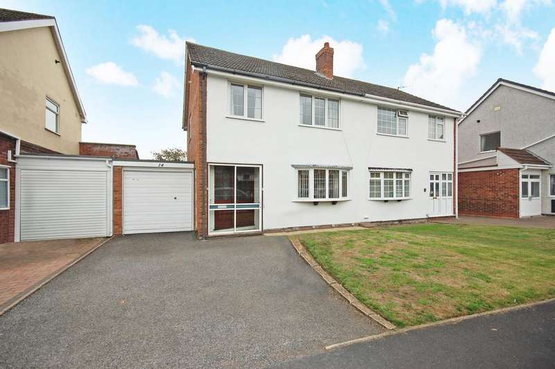 3 Bedrooms Semi Detached House for sale in Greenacres, Coven, Wolverhampton WV9