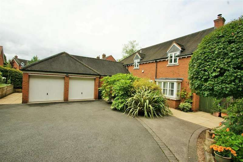 5 Bedrooms Detached House for sale in Monarch Close, Rugby