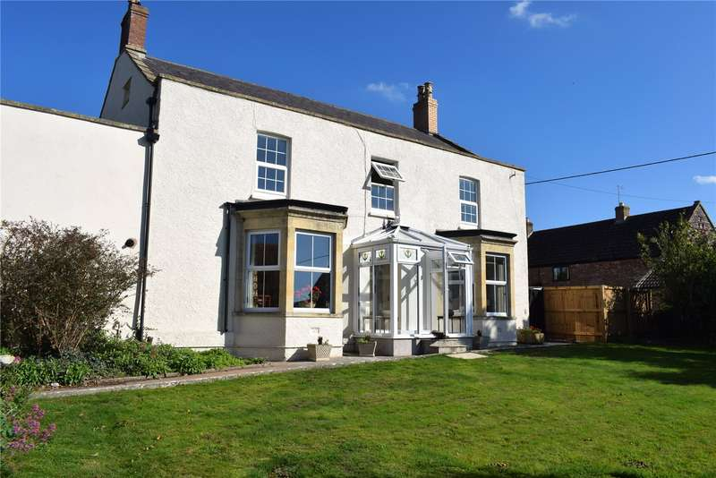4 Bedrooms Detached House for sale in The Street, Draycott, Cheddar, Somerset, BS27