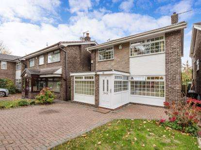 4 Bedrooms Detached House for sale in Valley Road, Heaton Mersey, Stockport, Cheshire