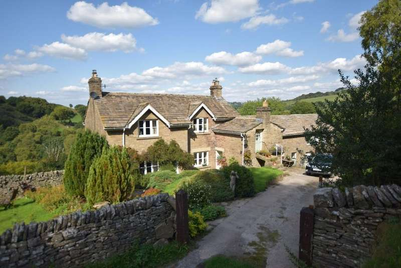3 Bedrooms Detached House for sale in Taxal, Whaley Bridge, High Peak