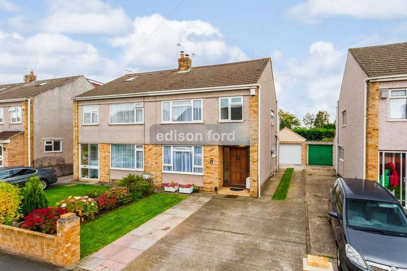 4 Bedrooms Semi Detached House for sale in Rockside Gardens, Frampton Cotterell, Bristol, BS36